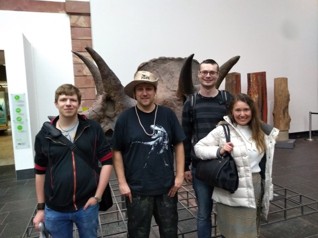 Senckenberg Naturmuseum Triceratops