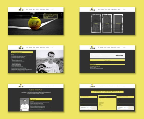 Diseño-web-MatchBall