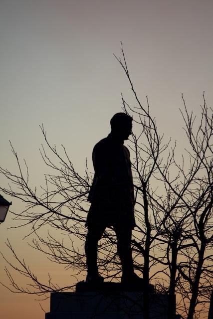 Yashwant Singh Parmar Statue, Mall Road, Shimla