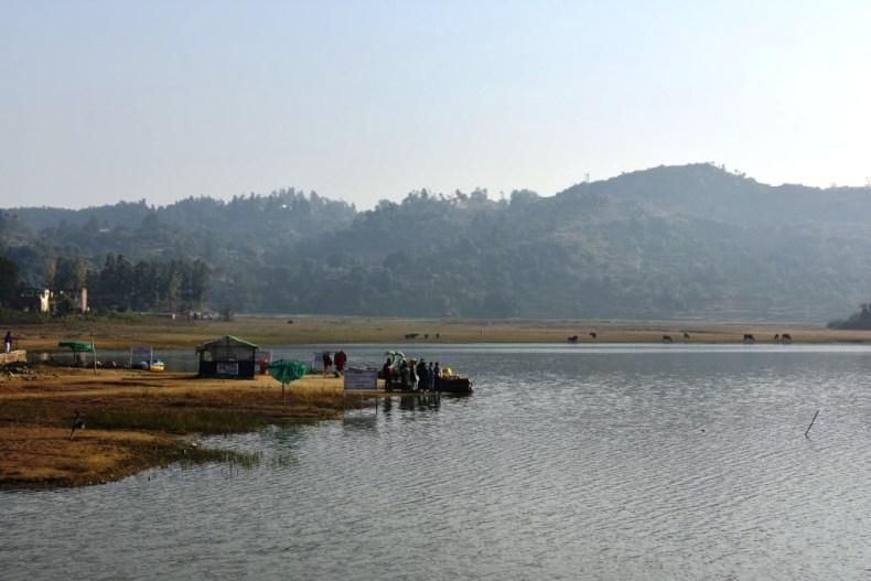 Boating at Tikkar Taal