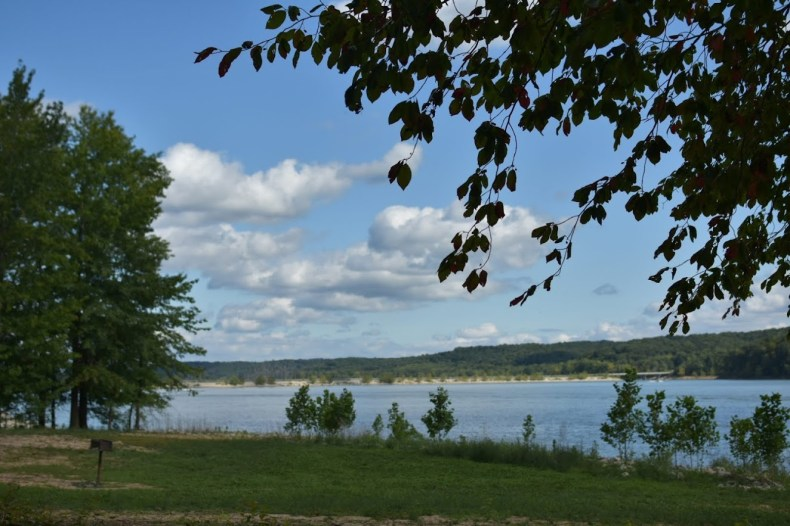 Lake Monroe view from our Picnic spot