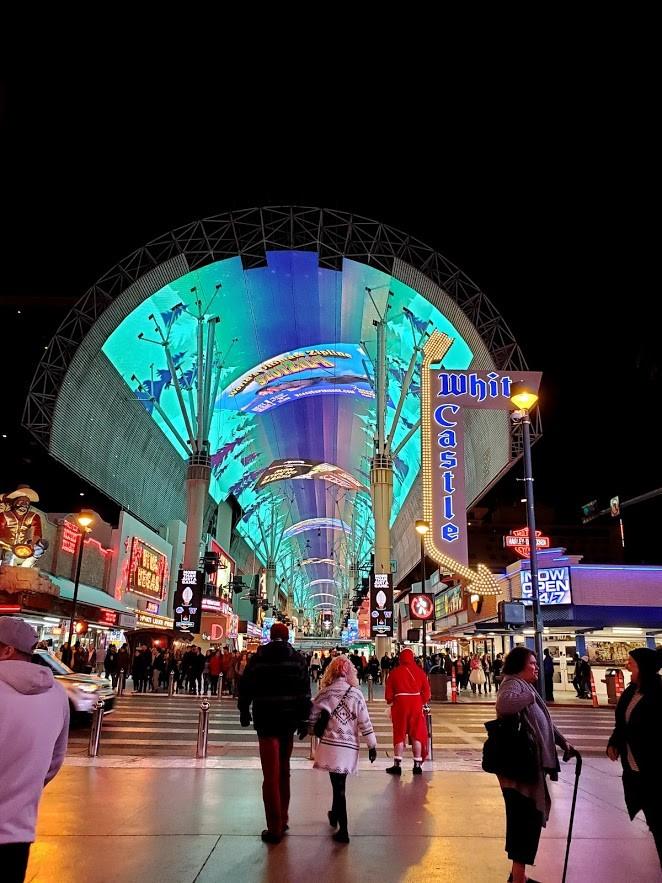 freemont street Entrance, Las Vegas