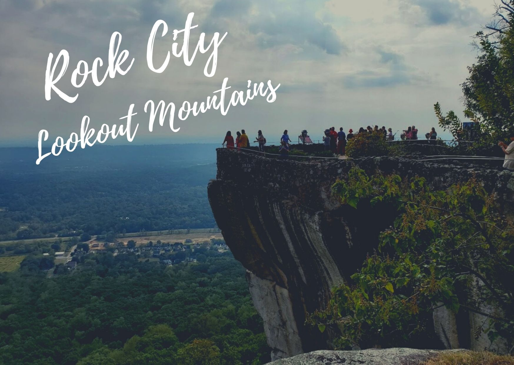 Rock City in Lookout Mountains