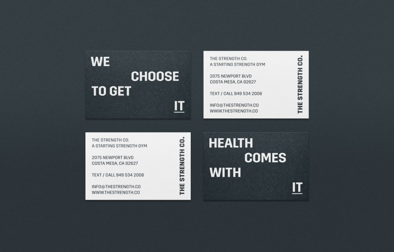Diferente_TheStrengthCo_BusinessCards