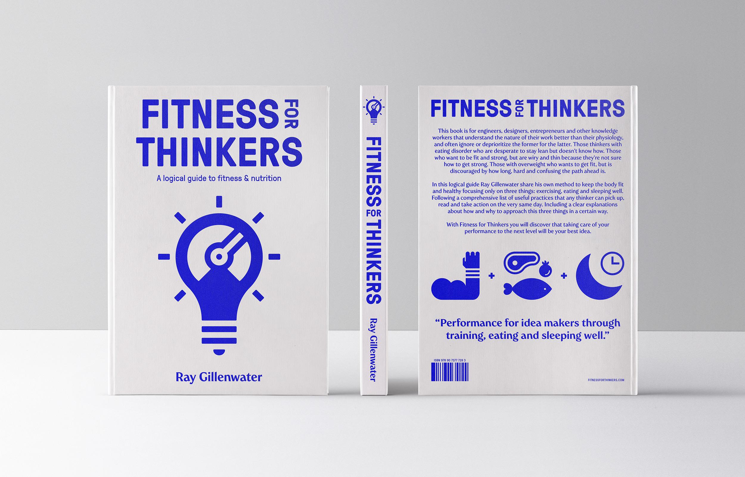 Diferente_FitnessForThinkers_BookCoverDesign