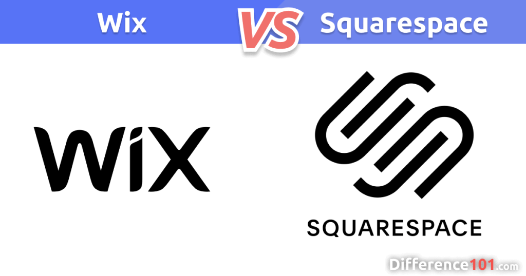 Wix vs. Squarespace Difference
