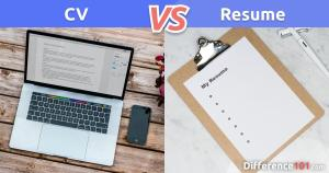 CV vs. Resume: What's The Difference?