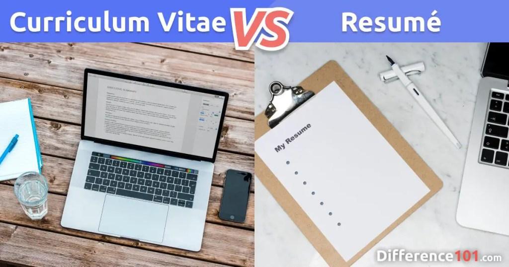 Curriculum Vitae vs Resumé: Qual é a Diferença?