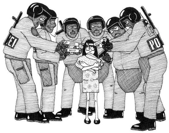 Ket Difference - Oppression vs Repression