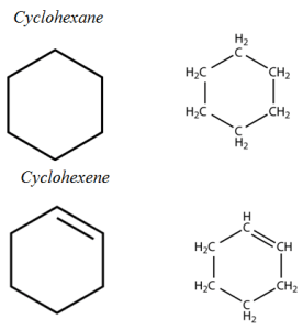 Aliphatic vs Aromatic Hydrocarbons-non-aromatic rings