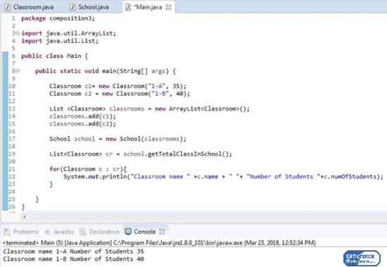 Key Difference Between Aggregation and Composition in Java