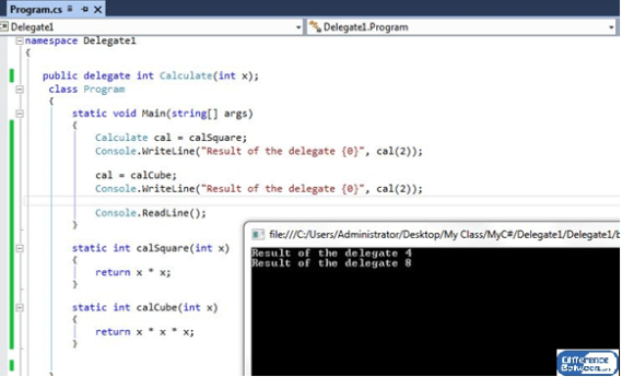 Difference Between Delegates and Events in C#