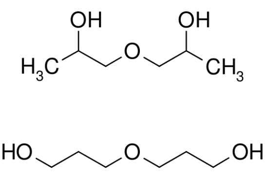 Difference Between Dipropylene Glycol and Propylene Glycol