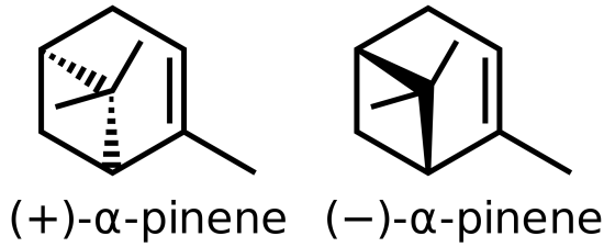 Difference Between Alpha and Beta Pinene