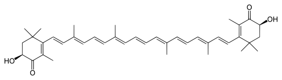 Canthaxanthin vs Astaxanthin