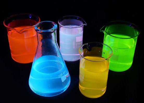 Photoluminescence vs Electroluminescence in Tabular Form