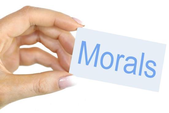Ethics vs Morals in Tabular Form