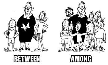 「between among」的圖片搜尋結果
