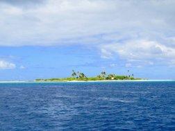 Un atoll polynésien près de Fakarava.