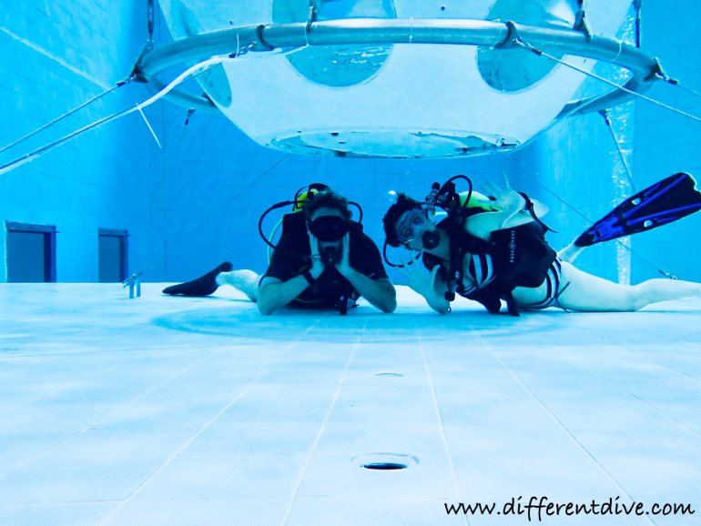 Nemo 33 A Deep Swimming Pool For Diving Different Dive