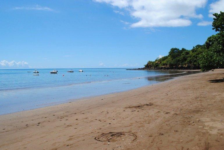 Une plage de Mayotte