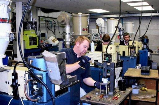 Cliché des machines de l'entreprise AP Diving