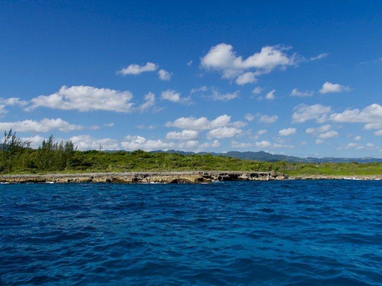 La côte près d'Ocho Rios