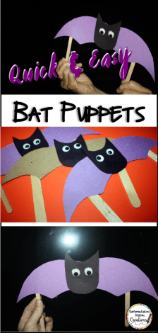 Quick & Easy Bat Puppets