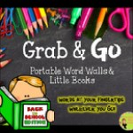 school portable word walls Grab & Go