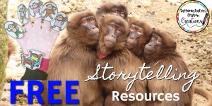 Get a free set of storytelling resources to use with storytelling gloves, a magnetic storyboard, and finger puppets. These free storytelling activities are quick and easy to create for hours of fun!