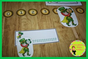 Free leprechaun activities. Math and literacy fun to bring magic to your St. Patrick's Day learning!