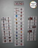 Enhance your print rich classroom with All About Me word walls and little books. Use for sorting, classifying, writing, word work, and more!