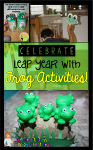 Kids will move and learn with these frog themed math games.
