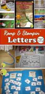 Hands on activities to explore the alphabet, letter attributes, and letter formation.