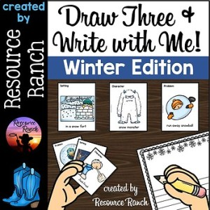 Draw Three and Write with Me