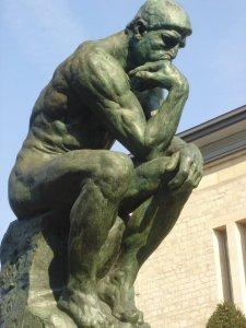 Thinking Man Rodin