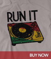 Run It Selector! - Reggae T-Shirt