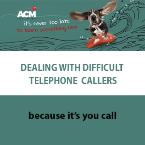 dealing with difficult callers
