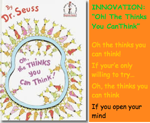 Innovation Keynote - OH THE THINKS YOU CAN THINK