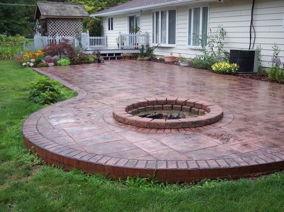 10 Best Stamped Concrete Walkway Ideas For Home Call