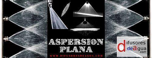 Cortinas De Agua Aspersi 243 N Plana Boquillas De Aspersi 243 N