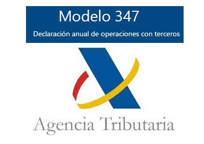 Modelo 347: Las operaciones que hay que declarar