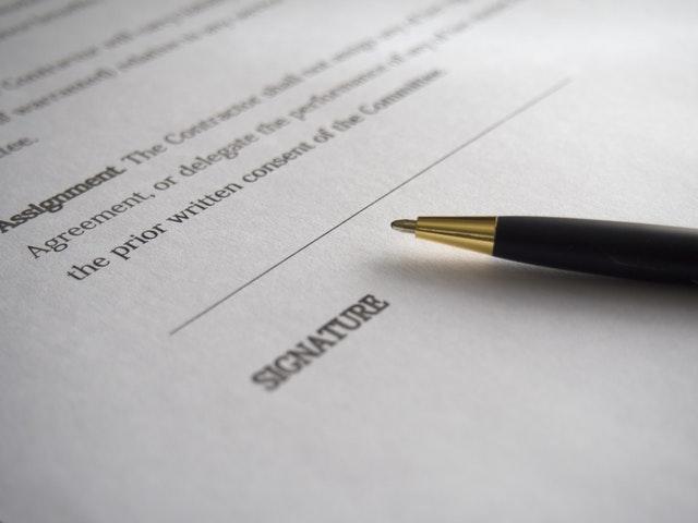 earnest money contract