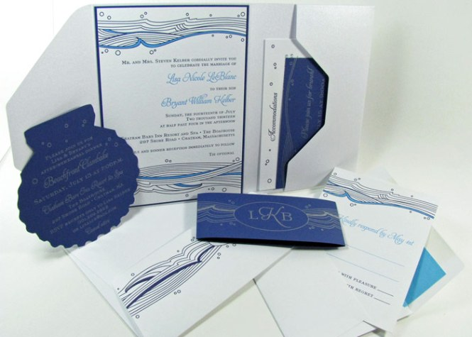 Beach Wedding Invitations That Set The Mood For A Seaside Celebration Martha Stewart Weddings