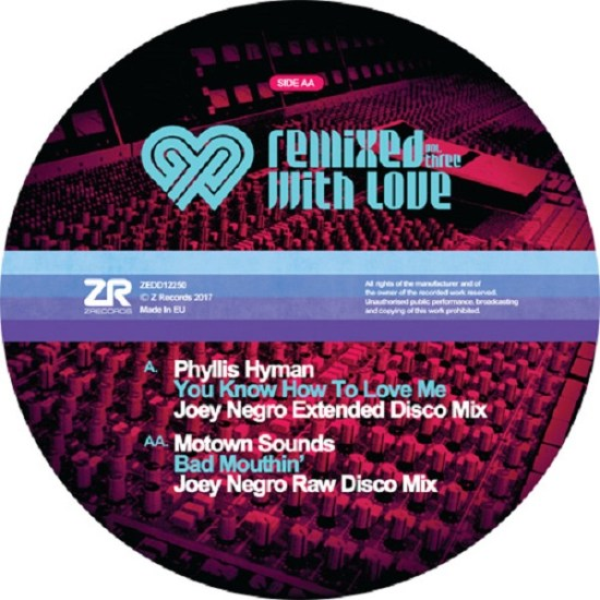 Joey Negro RWL - You Know How To Love Me
