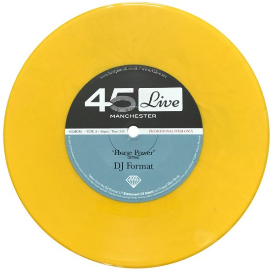 DJ Format & Boca 45 - Horse Power 45 Live A side