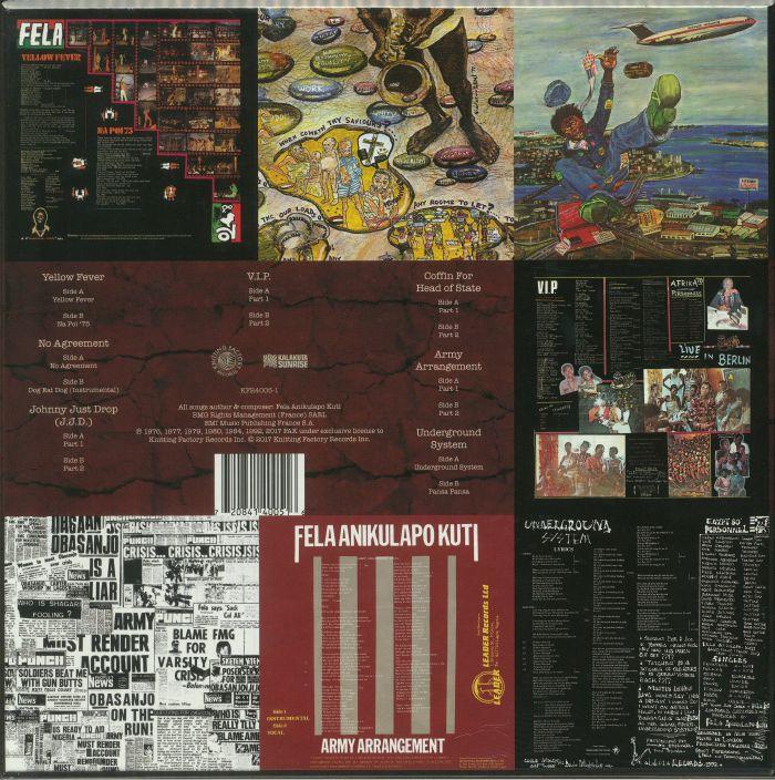 Fela Kuti Vinyl Box Set 4 Compiled By Erykah Badu