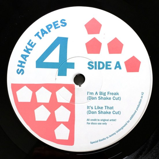Shake Tapes - Volume 4