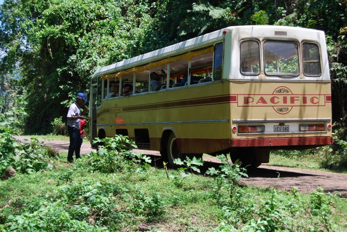 Bus in Taveuni