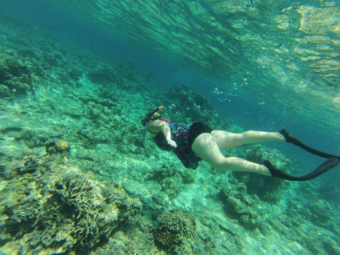 Me snorkeling
